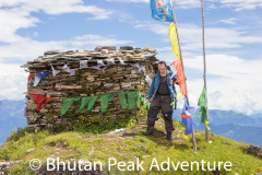Reached the sky burial area at 4175m (the highest on this trek)