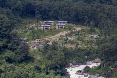 Hot springs at Gasa