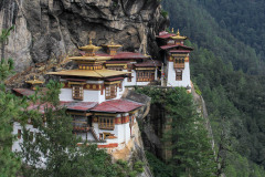 Tiger's nest monastery as seen from view point