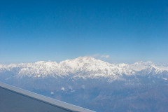 Mount Everest from Drukair flight
