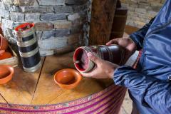"Sampling ""ara"" at Simply Bhutan"