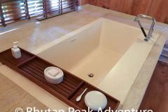 Bathtub in the Villa