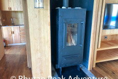 Wood Stove in the Villa