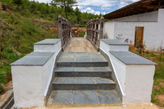 Bridge to the spa