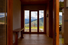 Entrance to the 1-bedroom villa