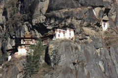 A sort of closeup view of the monastery
