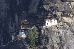 Closeup of Tiger's Nest Monastery